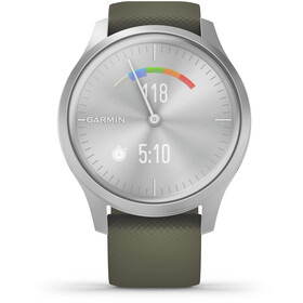 Garmin Vivomove Style Smartwatch silver/moss green